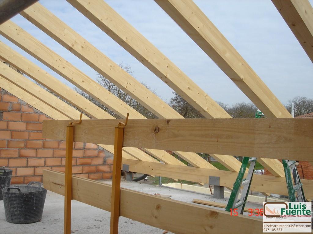 Tejados para porches techos mviles para patios - Estructuras de madera para tejados ...